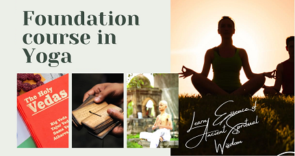 Foundation Course in Yoga - Online Live