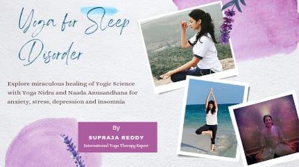 Yoga for Sleep Disorder