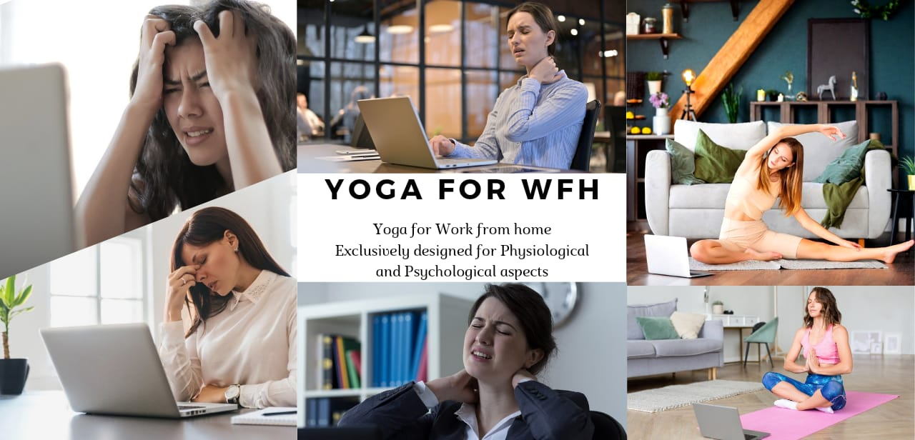Yoga For Work From Home